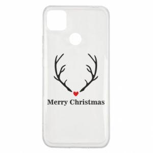 Etui na Xiaomi Redmi 9c Horn, Merry Christmas