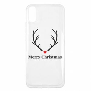 Xiaomi Redmi 9a Case Horn, Merry Christmas