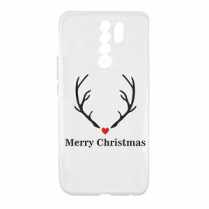 Etui na Xiaomi Redmi 9 Horn, Merry Christmas