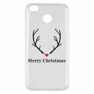 Etui na Xiaomi Redmi 4X Horn, Merry Christmas