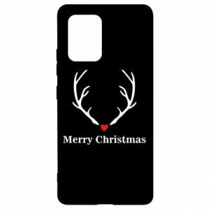 Etui na Samsung S10 Lite Horn, Merry Christmas