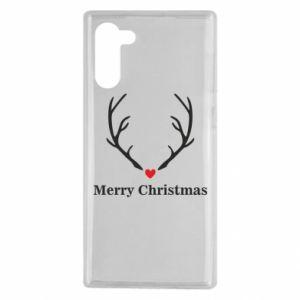 Etui na Samsung Note 10 Horn, Merry Christmas