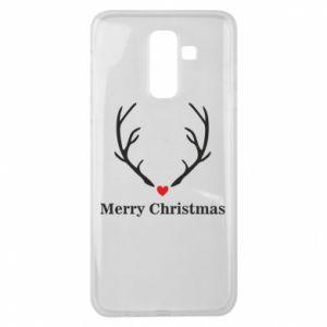 Etui na Samsung J8 2018 Horn, Merry Christmas