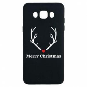 Etui na Samsung J7 2016 Horn, Merry Christmas