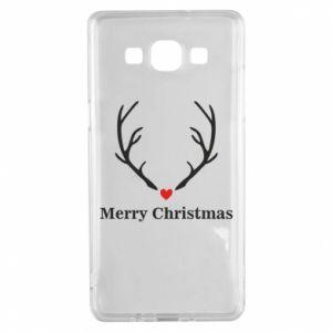 Etui na Samsung A5 2015 Horn, Merry Christmas