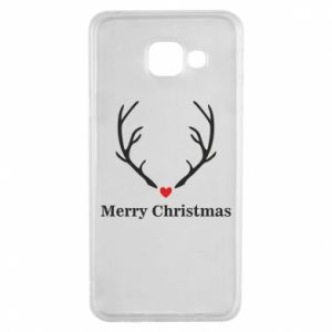 Etui na Samsung A3 2016 Horn, Merry Christmas