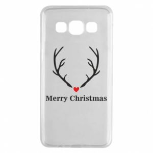 Samsung A3 2015 Case Horn, Merry Christmas