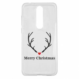 Etui na Nokia 5.1 Plus Horn, Merry Christmas