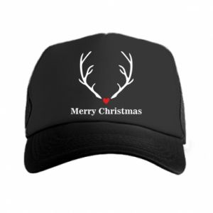 Trucker hat Horn, Merry Christmas
