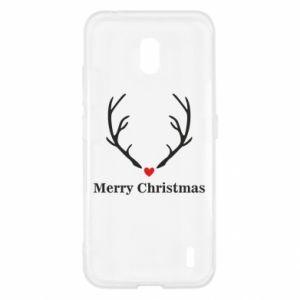 Etui na Nokia 2.2 Horn, Merry Christmas