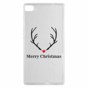 Etui na Huawei P8 Horn, Merry Christmas