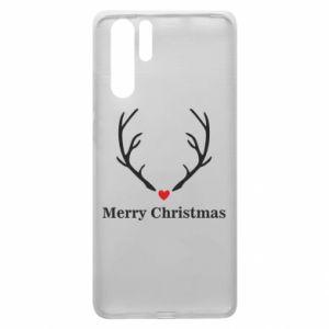Etui na Huawei P30 Pro Horn, Merry Christmas
