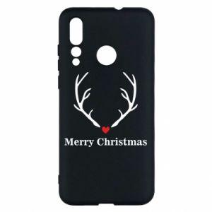 Etui na Huawei Nova 4 Horn, Merry Christmas