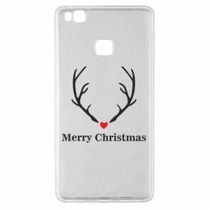 Etui na Huawei P9 Lite Horn, Merry Christmas