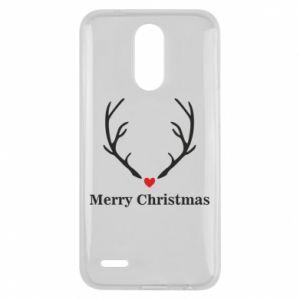 Etui na Lg K10 2017 Horn, Merry Christmas