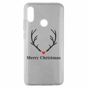 Huawei Honor 10 Lite Case Horn, Merry Christmas