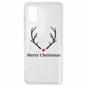 Etui na Samsung A41 Horn, Merry Christmas