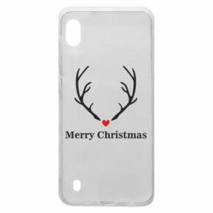 Etui na Samsung A10 Horn, Merry Christmas