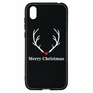Etui na Huawei Y5 2019 Horn, Merry Christmas