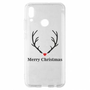 Etui na Huawei P Smart 2019 Horn, Merry Christmas