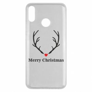 Etui na Huawei Y9 2019 Horn, Merry Christmas