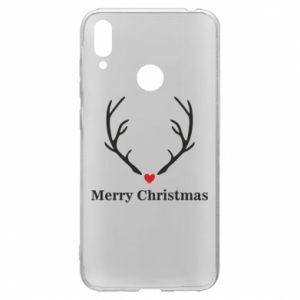 Etui na Huawei Y7 2019 Horn, Merry Christmas