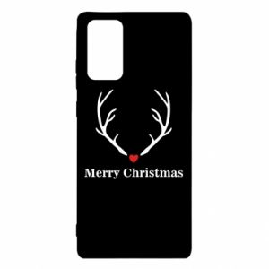 Etui na Samsung Note 20 Horn, Merry Christmas