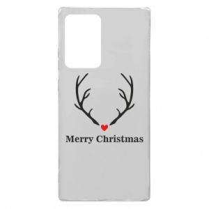 Etui na Samsung Note 20 Ultra Horn, Merry Christmas