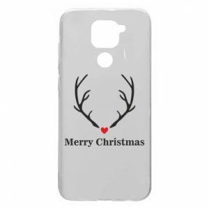Etui na Xiaomi Redmi Note 9/Redmi 10X Horn, Merry Christmas