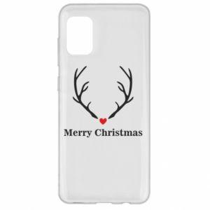 Etui na Samsung A31 Horn, Merry Christmas