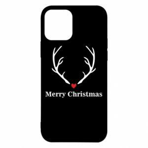 Etui na iPhone 12/12 Pro Horn, Merry Christmas
