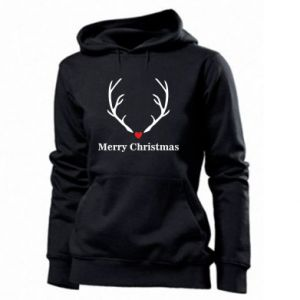 Women's hoodies Horn, Merry Christmas