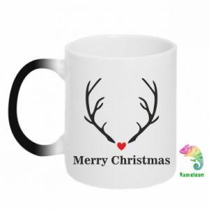 Kubek-magiczny Horn, Merry Christmas