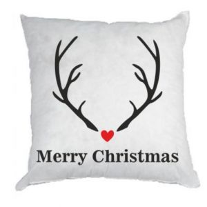 Pillow Horn, Merry Christmas