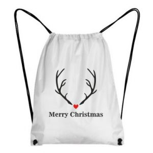 Backpack-bag Horn, Merry Christmas
