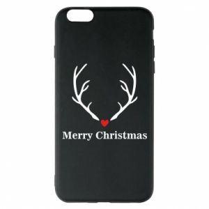 Phone case for iPhone 6 Plus/6S Plus Horn, Merry Christmas