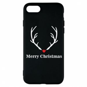 Phone case for iPhone 7 Horn, Merry Christmas