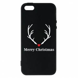 Phone case for iPhone 5/5S/SE Horn, Merry Christmas