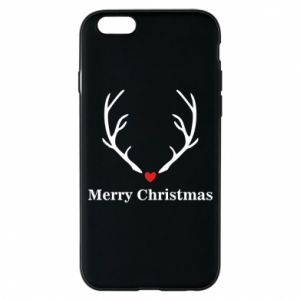Phone case for iPhone 6/6S Horn, Merry Christmas