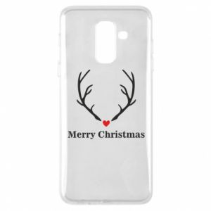 Phone case for Samsung A6+ 2018 Horn, Merry Christmas
