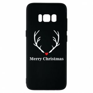Phone case for Samsung S8 Horn, Merry Christmas