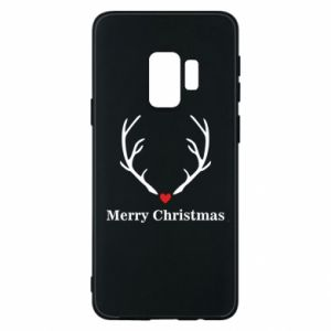 Phone case for Samsung S9 Horn, Merry Christmas