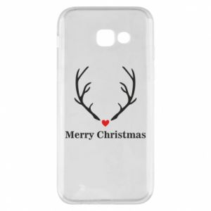Phone case for Samsung A5 2017 Horn, Merry Christmas