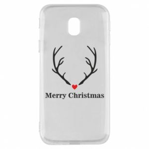 Phone case for Samsung J3 2017 Horn, Merry Christmas