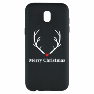 Phone case for Samsung J5 2017 Horn, Merry Christmas