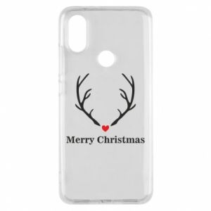 Phone case for Xiaomi Mi A2 Horn, Merry Christmas