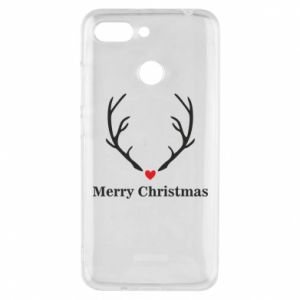 Phone case for Xiaomi Redmi 6 Horn, Merry Christmas