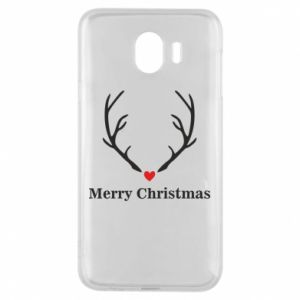 Phone case for Samsung J4 Horn, Merry Christmas