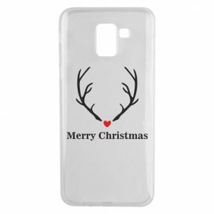 Phone case for Samsung J6 Horn, Merry Christmas