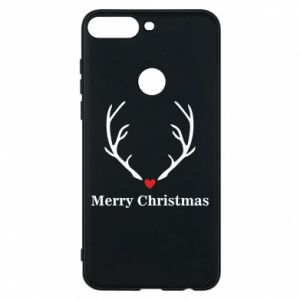 Phone case for Huawei Y7 Prime 2018 Horn, Merry Christmas